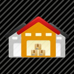 storage, warehouse, warehouses icon