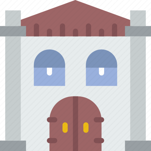 antique, building, city, construction, home, urban icon