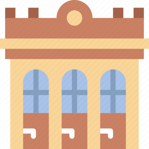 Antique, building, city, construction, home, urban icon - Download on Iconfinder