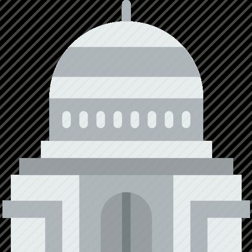 building, capitol, city, construction, home, urban icon