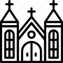 building, church, city, construction, home, urban icon