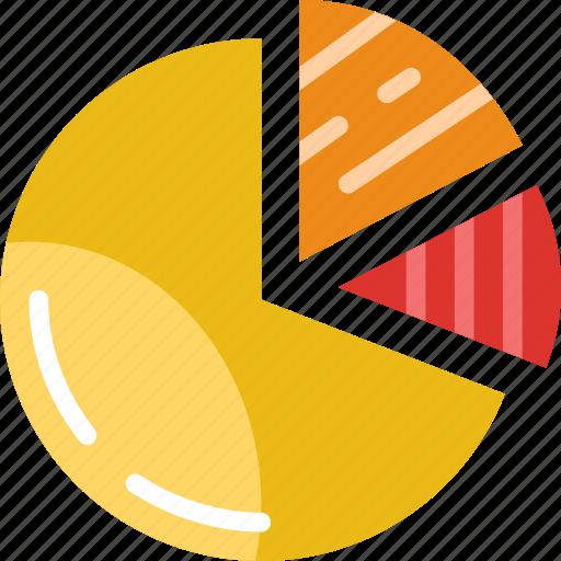 business, chart, finance, marketing, money, office, pie icon