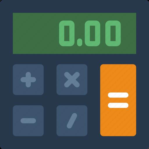 business, calculator, finance, marketing, money, office icon