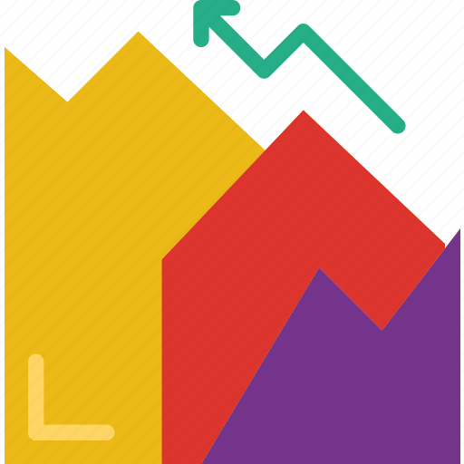 analytic, business, finance, graph, marketing, money, office icon