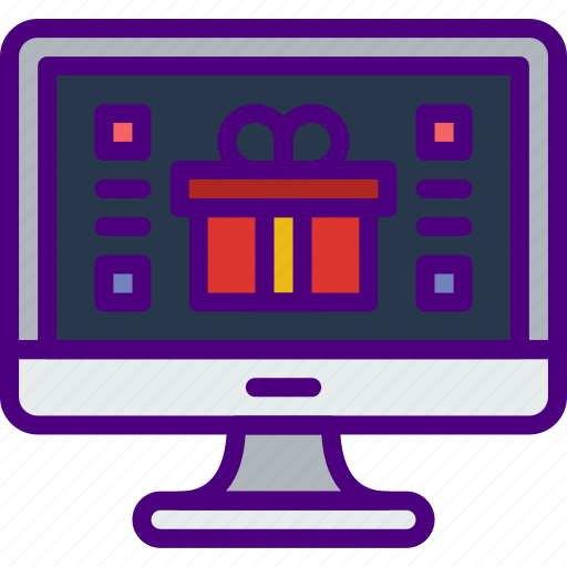 business, finance, gift, marketing, money, office icon