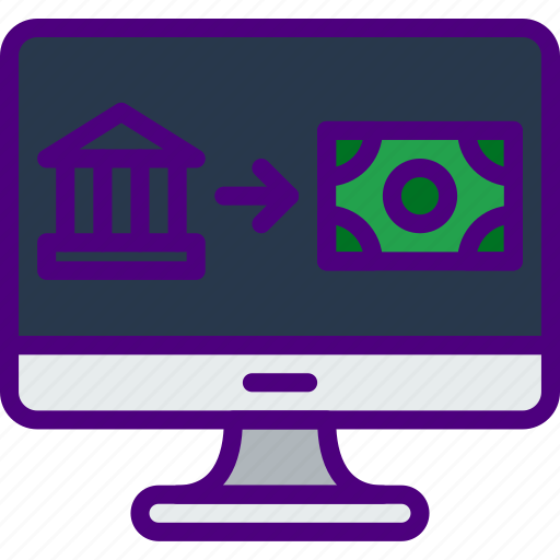 bank, business, finance, marketing, money, office, transfer icon