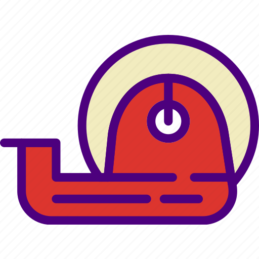 business, duct, finance, marketing, money, office, tape icon