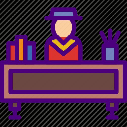 business, desk, finance, job, marketing, money, office icon