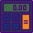 business, calculator, finance, marketing, money, office icon