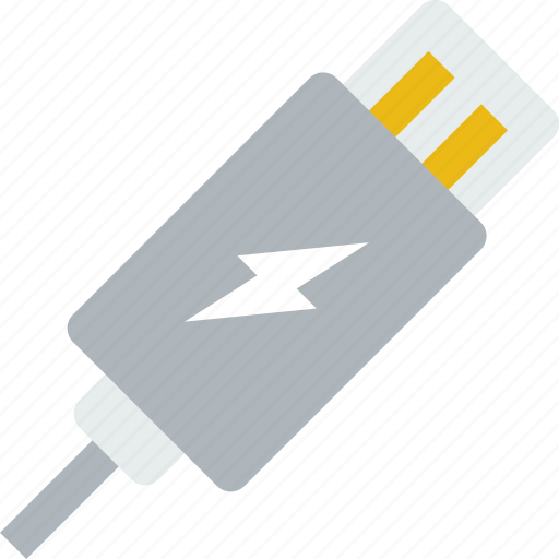 cable, charging, connection, internet, network, web icon