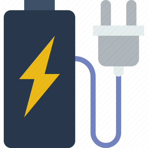 battery, charging, connection, internet, network, web icon