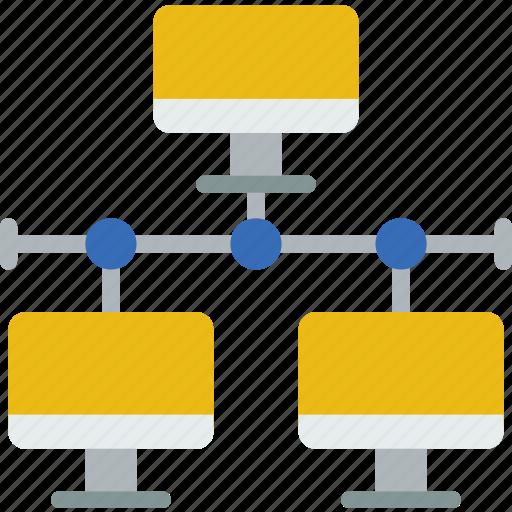 connection, internet, lan, network, web icon