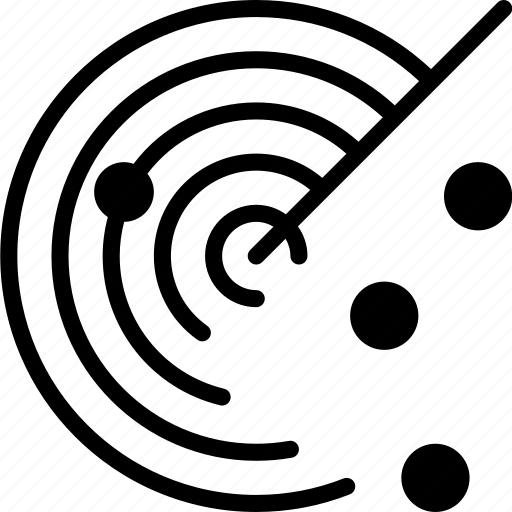 connection, internet, network, radar, web icon