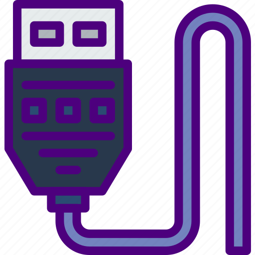 cable, connection, internet, network, usb, web icon