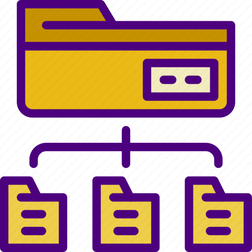 connection, folder, internet, network, transfer, web icon
