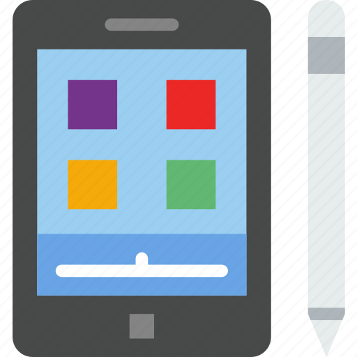 device, gadget, graphic, phone, tablet, technology icon