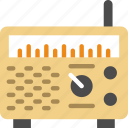 device, gadget, phone, radio, technology, vintage icon