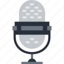 device, gadget, microphone, phone, technology icon