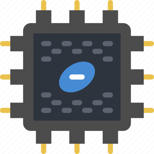device, gadget, phone, processor, technology icon