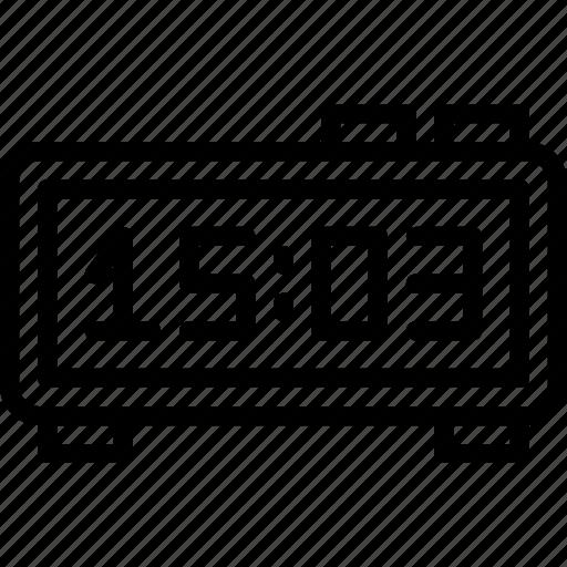 clock, device, digital, gadget, phone, technology icon