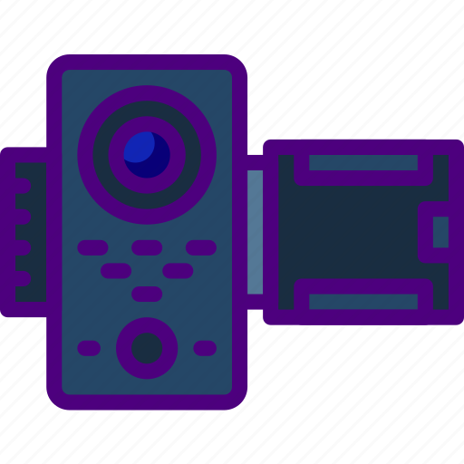 camera, device, gadget, phone, technology, video icon
