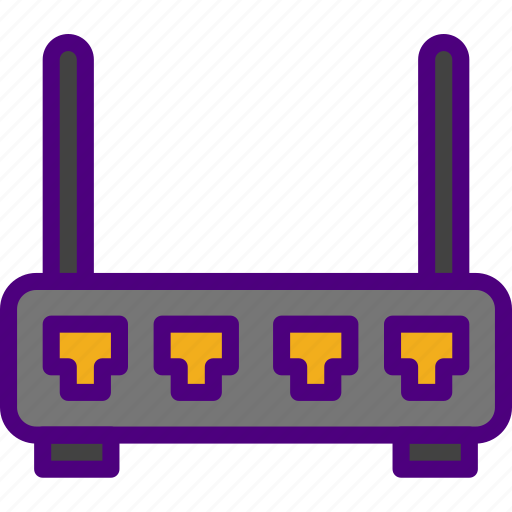 device, gadget, phone, router, technology icon