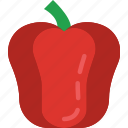 bell, cooking, eat, food, kitchen, meal, pepper icon