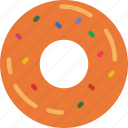cooking, donut, eat, food, kitchen, meal icon