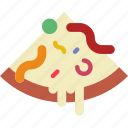 cooking, eat, food, kitchen, meal, pizza, slice icon