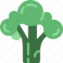 broccoli, cooking, eat, food, kitchen, meal icon