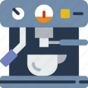 cooking, eat, espresso, food, kitchen, machine, meal icon