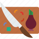 board, chopping, cooking, eat, food, kitchen, meal icon