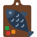 cooking, eat, fillet, fish, food, kitchen, meal icon