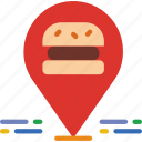 cooking, eat, food, kitchen, location, meal, restaurant icon