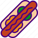cook, dog, eat, food, hot, kitchen, meal icon