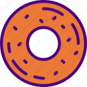 cook, donut, eat, food, kitchen, meal icon