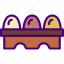 cook, eat, eggs, food, kitchen, meal icon