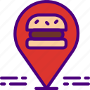 cook, eat, food, kitchen, location, meal, restaurant icon