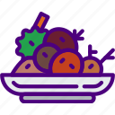 cook, eat, food, kitchen, meal, salad icon