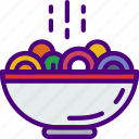 cook, eat, food, kitchen, meal, ramen icon