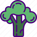 broccoli, cook, eat, food, kitchen, meal icon