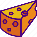 cheddar, cook, eat, food, kitchen icon