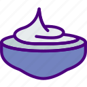 cook, cream, eat, food, kitchen, whipped icon