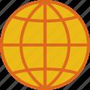 area, gps, land, map, pin, world icon