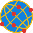 area, gps, land, map, pin, points, world icon