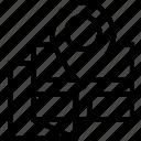 area, gps, land, location, map, pin, street icon