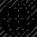 area, gps, land, location, map, pin, world icon