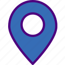 area, gps, land, location, map, pin icon