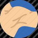 armpit, dcotor, health, hospital, medical icon
