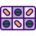 cure, doctor, medical, medicine, pharmacy, pill, tablet icon